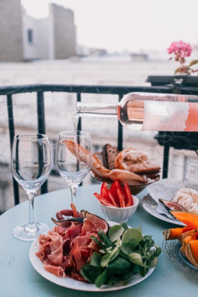 vin rosé à l'apéritif